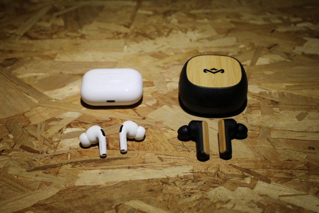比較 Airpods Pro 和Marley Redemption ANC的降噪品質