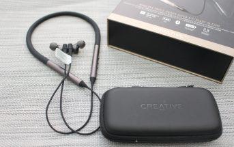 開箱Creative Aurvana Trio 頸掛式藍牙耳機